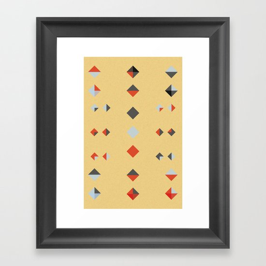 untitled shape 3 Framed Art Print