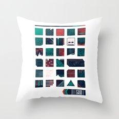 Swatches Throw Pillow