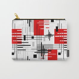 Abstract pattern Retro 3 Carry-All Pouch