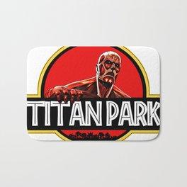 big armor titan Bath Mat