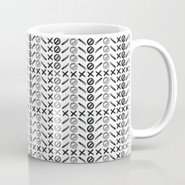 Dagger Danger Cross by Chrissy Curtin Coffee Mug
