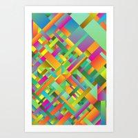 stitch Art Prints featuring Stitch by Roberlan Borges