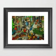 DC Peeps 2011 Framed Art Print