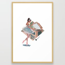 Ballerina - Broken Dreams Framed Art Print