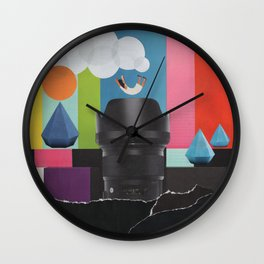 Free Fall Wall Clock