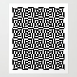 optical pattern 15 Art Print