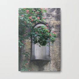 At the Alamo Metal Print
