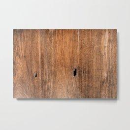 Old wooden texture Metal Print