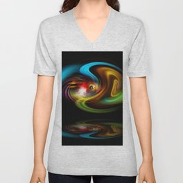 Abstract Perfection - Magical Light And Energy 2 Unisex V-Neck