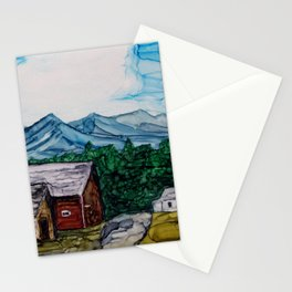 Bar-U Ranch Stationery Cards