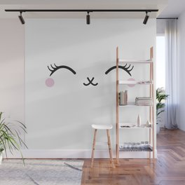 Cute eyes Wall Mural