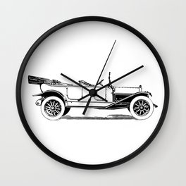 Old car 5 Wall Clock