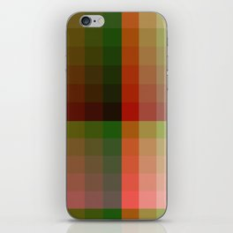 Color harmony ...red , green iPhone Skin