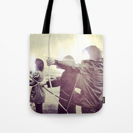 Glows And Arrows Tote Bag