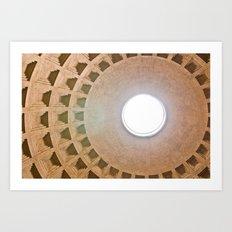 Pantheon Dome Art Print