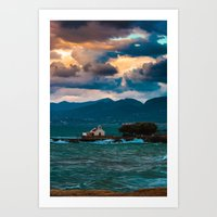 Greece Art Print