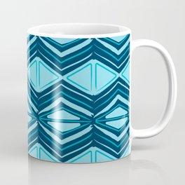 Batik Print Coffee Mug