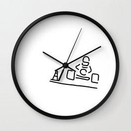 kart cart driver racing car Motor sport Wall Clock