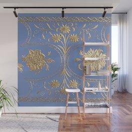 rhapsody in blue Wall Mural