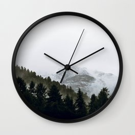 Into the Wild VI / Switzerland Wall Clock