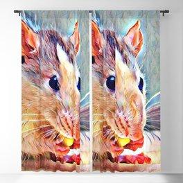 Aquarell Rat Blackout Curtain