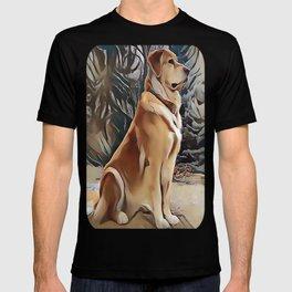 A Golden Retriever T-shirt