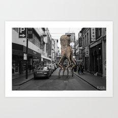 Unseen Monsters of Melbourne - Wabi Goons Milky Art Print
