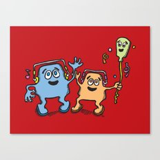 Happy balloon :) Canvas Print