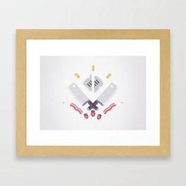 DISH - ORIGINAL Framed Art Print
