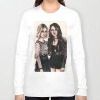 sarah paulson Long Sleeve T-shirts featuring Sarah x Lana by vooce & kat