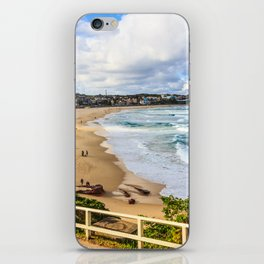 Bondi beach, New South Wales, Australia, on a quiet day iPhone Skin