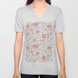 sweet peach Unisex V-Neck