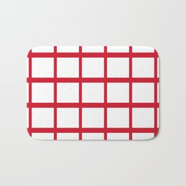 Abstraction from the Flag of england Bath Mat