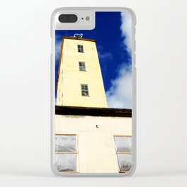 Abandoned XVII Clear iPhone Case