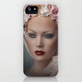 Flower Chid iPhone Case