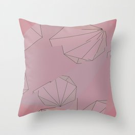Shapes Shifted Throw Pillow