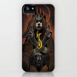 Queen of will iPhone Case