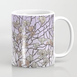 pattern of branches in pastel colors 2 (https://society6.com/totalflora/collection ) Coffee Mug