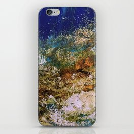 peninsula blue, monterey iPhone Skin