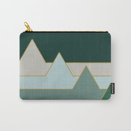 Green Mountains #society6 #decor #buyart Carry-All Pouch
