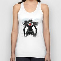 magritte Tank Tops featuring Ryuk Magritte by le.duc