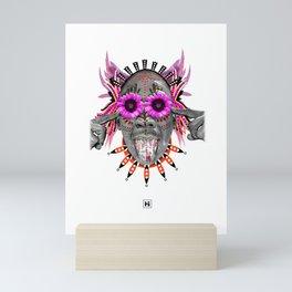 The GOD of Tulipas Mini Art Print