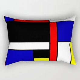 Mondrian #70 Rectangular Pillow