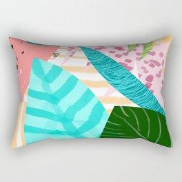 Love in leaf Rectangular Pillow