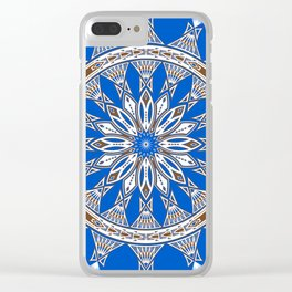 Tribal Gathering Clear iPhone Case