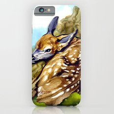 Fawn Parked in the Trees iPhone 6s Slim Case