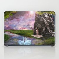river song iPad Cases featuring Moon River by Susie Hawkins