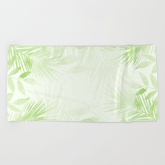 Summer Tropics Beach Towel