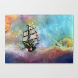 Mike's Tall Ship Canvas Print