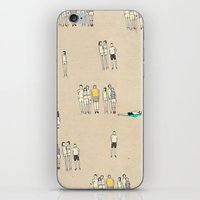 it crowd iPhone & iPod Skins featuring Crowd by Lera Sxemka